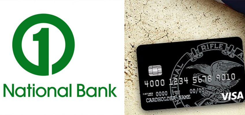 First National Bank Will Stop Issuing NRA Visa Cards