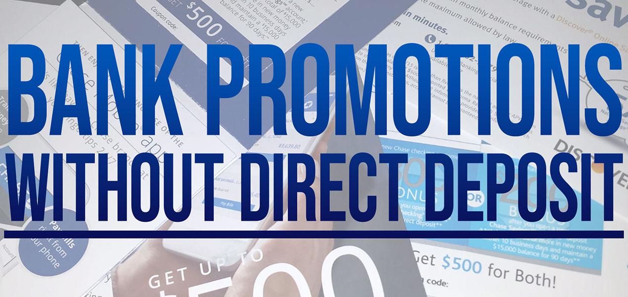 Bank Signup Bonus No Direct Deposit Pennsylvania