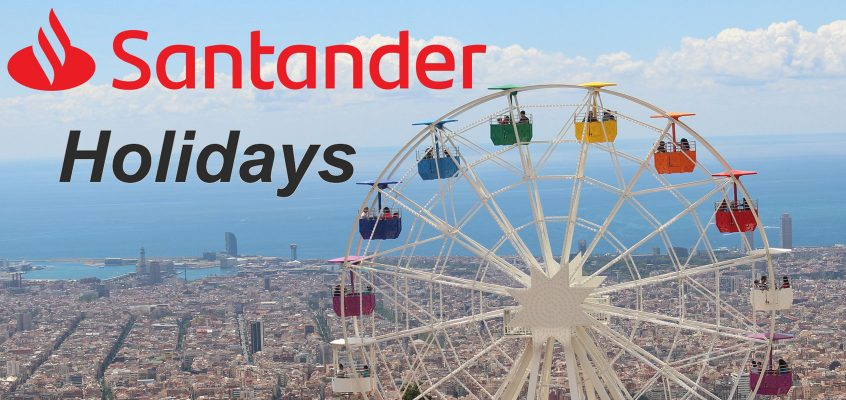 Santander Bank Holidays for 2020