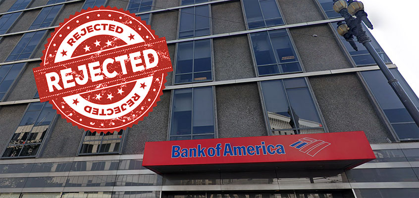 bank of america cancel checking account