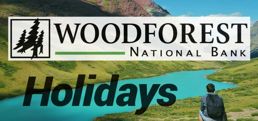 Woodforest National Bank Holidays