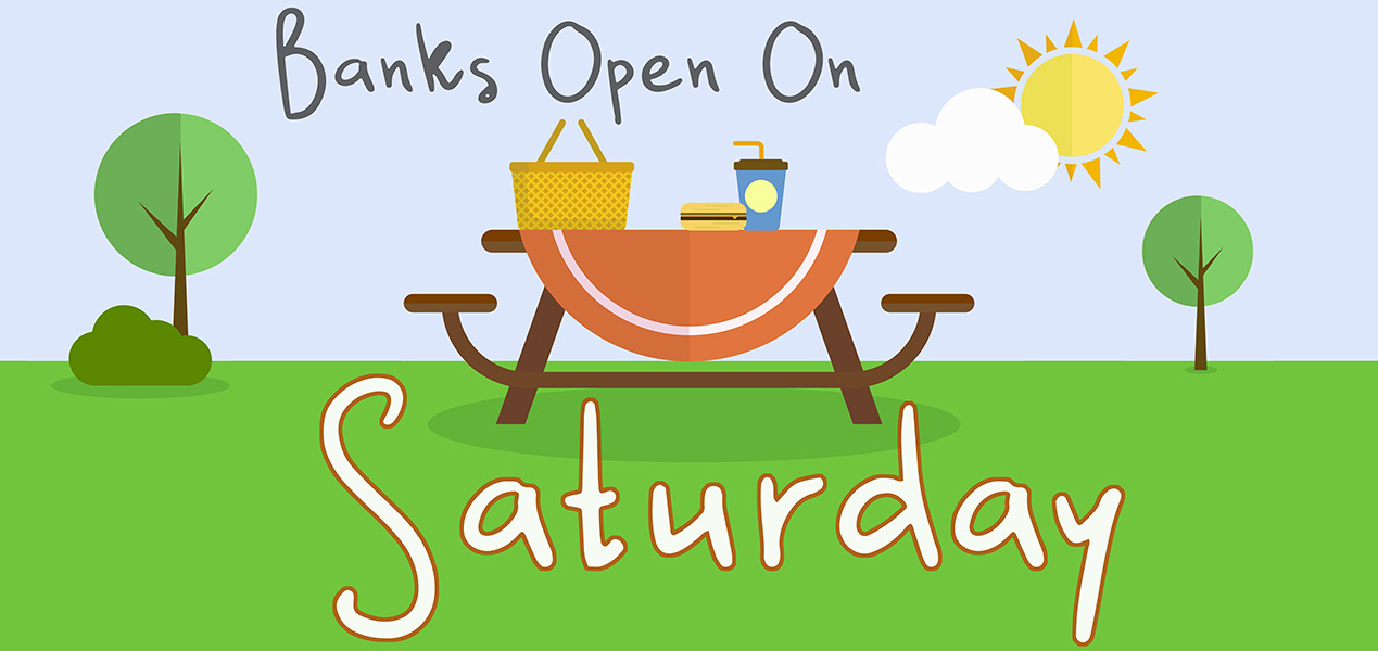 Banks Open on Saturday (2019) | Banks org