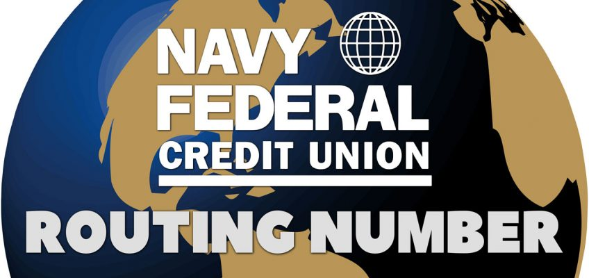 What Is My Navy Federal Routing Number?