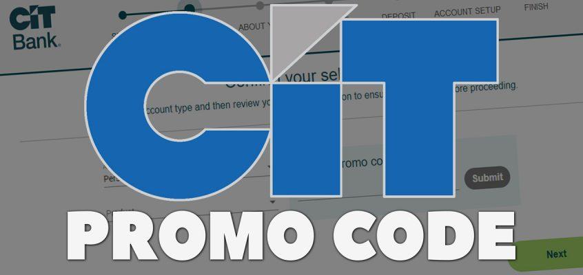 CIT Bank $300 Promo Code for Savings Builder