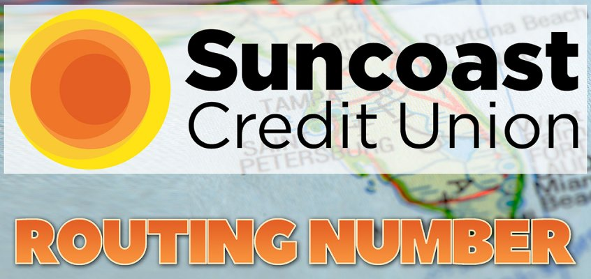 Suncoast Credit Union Routing Number & SWIFT Code