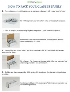 How to Ship Glasses
